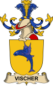 Republic of Austria Coat of Arms for Vischer