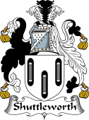 English Coat of Arms for Shuttleworth