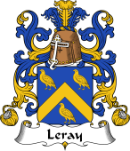 Coat of Arms from France for Leray (Ray le)
