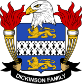 American Coat of Arms for Dickinson
