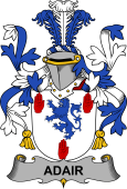 Irish Coat of Arms for Adair