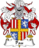 Portuguese Coat of Arms for Pau