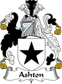 English Coat of Arms for Ashton