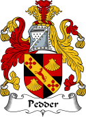 English Coat of Arms for Pedder