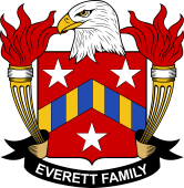 American Coat of Arms for Everett