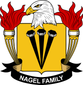 American Coat of Arms for Nagel