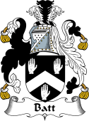 English Coat of Arms for Batt
