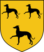 Coat of Arms from France for Allen