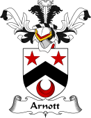 Coat of Arms from Scotland for Arnott