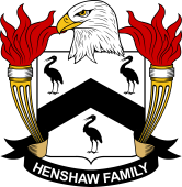American Coat of Arms for Henshaw