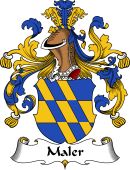 German Wappen Coat of Arms for Maler