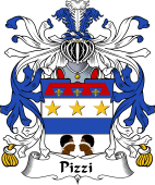 Italian Coat of Arms for Pizzi