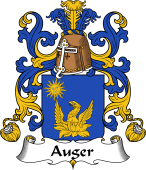 Coat of Arms from France for Auger