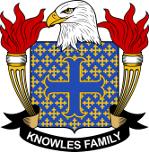 American Coat of Arms for Knowles