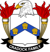 American Coat of Arms for Cradock