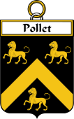 French Coat of Arms Badge for Pollet