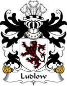 Welsh Coat of Arms for Ludlow (of Shropshire)