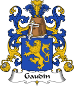 Coat of Arms from France for Gaudin