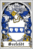 Danish Coat of Arms Bookplate for Seefeldt