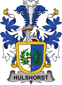 Swedish Coat of Arms for Hulshorst