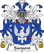 Italian Coat of Arms for Sansoni