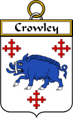 Irish Badge for Crowley or O'Crouley