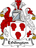 Scottish Coat of Arms for Ethlington