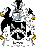 English Coat of Arms for Jarveis or Jarvis