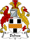 English Coat of Arms for Delves
