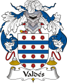 Spanish Coat of Arms for Valdés II
