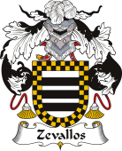 Spanish Coat of Arms for Zevallos