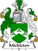 English Coat of Arms for Mickleton