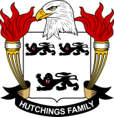 American Coat of Arms for Hutchings