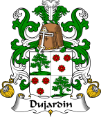 Coat of Arms from France for Dujardin