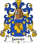 Coat of Arms from France for Janvier
