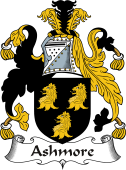 Irish Coat of Arms for Ashmore