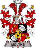 Danish Coat of Arms for Moltke