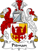 English Coat of Arms for Pitman