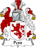 English Coat of Arms for Petit