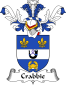 Coat of Arms from Scotland for Crabbie