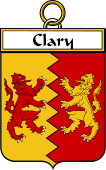 Irish Badge for Clary or O'Clary