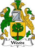 Irish Coat of Arms for Woods