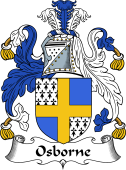 Irish Coat of Arms for Osborne