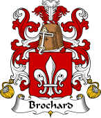 Coat of Arms from France for Brochard