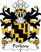 Welsh Coat of Arms for Perkins (of Pilston, Monmouthshire)