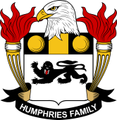 American Coat of Arms for Humphries
