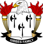 American Coat of Arms for Gibbes