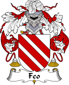 Spanish Coat of Arms for Feo