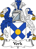 English Coat of Arms for York (e)