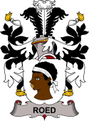 Danish Coat of Arms for Roed